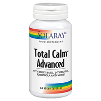 Solaray Total Calm Advanced - 60 Vegicaps
