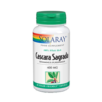 Solaray Cascara Sagrada - 60 x 400mg Vegicaps