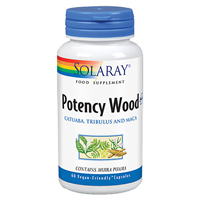 Solaray Potency Wood Plus - 60 Vegicaps