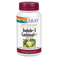 Solaray Indole-3 Supreme - 30 x 200mg Vegicaps