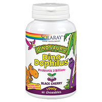 Solaray DinoDophilus Probiotic - 2 Billion - 60 Chewables