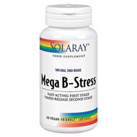 Solaray Timed-Release Mega B-Stress - 60 Vegicaps