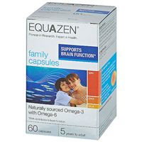 Equazen Family Capsules - 60 Capsules - Best before date is 31st January 2021
