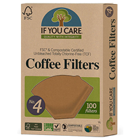 If You Care Coffee Filters No.4 Large - 100 Filters