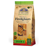 If You Care 100% Biomass Firelighters - 72 Pieces