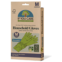 If You Care Medium Latex Household Gloves - One Pair