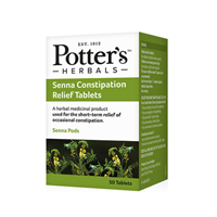 Potter`s Herbals Senna Constipation Relief - 50 Tablets