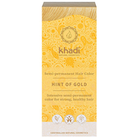 Khadi Natural Hair Colour Powder - Hint of Gold - 100g