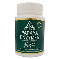 Papaya Enzymes - 60 x 120mg Vegicaps