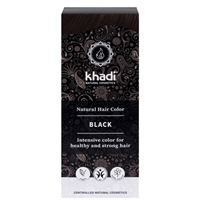 Khadi Natural Hair Colour Powder - Black - 100g