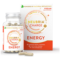Neubria Charge for Energy - 60 Capsules