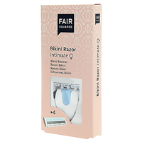 Fair Squared Intimate Bikini Razor - Including 4 Blades