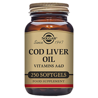Solgar Cod Liver Oil - 250 Softgels