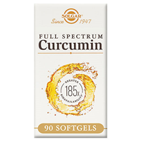 Solgar Full Spectrum Curcumin 185x - 90 x 800mg Softgels