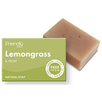 Friendly Soap Lemongrass & Hemp Bar Soap - 95g