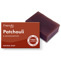 Friendly Soap Patchouli & Sandalwood Bar Soap - 95g