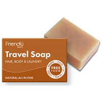 Friendly Soap Travel Soap - Hair, Body & Laundry - 95g