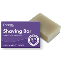 Friendly Soap Shaving Bar - Orange & Lavender - 95g