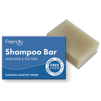 Friendly Soap Shampoo Bar - Lavender & Tea Tree - 95g