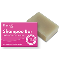Friendly Soap Shampoo Bar - Lavender & Geranium - 95g