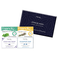 Friendly Soap Ethical Man Natural Soap Collection - 4 x 95g