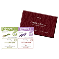 Friendly Soap Ethical Woman Natural Soap Collection - 4 x 95g