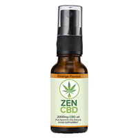 ZenCBD 2000mg Orange Flavour - 20ml