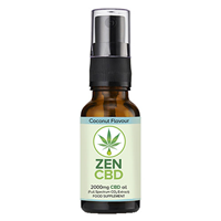 ZenCBD 2000mg Coconut Flavour - 20ml