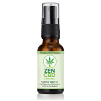 ZenCBD 500mg Peppermint Flavour - 20ml