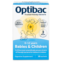 OptiBac Probiotics Babies and Children - 10 Sachets