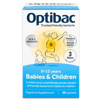 OptiBac Probiotics Babies and Children - 30 Sachets