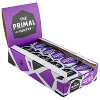 The Primal Pantry Cocoa Brownie Protein Bars - 15 x 55g