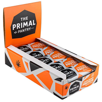 The Primal Pantry Cocoa Orange Protein Bars - 15 x 55g
