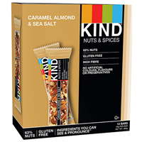 KIND Caramel Almond & Sea Salt Snack Bars - 12 x 40g