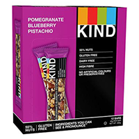 KIND Pomegranate Blueberry Pistachio Snack Bars - 12 x 40g