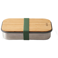 Black+Blum Stainless Steel Sandwich Box Olive