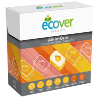 Ecover All in One - 22 Dishwasher Tablets