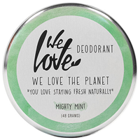 We Love The Planet Mint Deodorant Cream - 48g