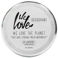 We Love The Planet Sensitive Deodorant Cream - 48g