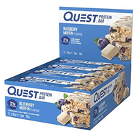 Quest Nutrition Blueberry Muffin Protein Bars - 12 x 60g