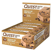 Quest Nutrition Chocolate Chip Cookie Dough Protein Bars - 12 x 60g