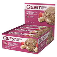 Quest Nutrition White Chocolate Raspberry Protein Bars - 12 x 60g