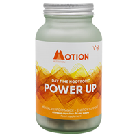 Motion Nutrition Power Up: Day Time Nootropic - 60 Vegicaps
