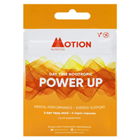 Motion Nutrition POWER UP: Day Time Nootropic - 3 Day Trial Pack - Best before date is 30th September 2020
