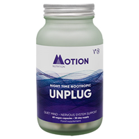 Motion Nutrition UNPLUG: Night Time Nootropic - 60 Vegicaps