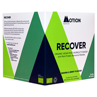 Motion Nutrition RECOVER: Banana & Berry Post-Workout Powder - 12 x 30g
