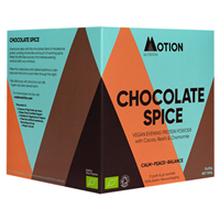 Motion Nutrition CHOCOLATE SPICE: Evening Protein Powder - 12 x 30g