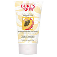Burt`s Bees Peach and Willowbark Deep Pore Scrub - 110g