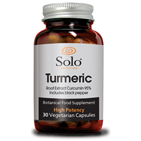 Solo Nutrition Turmeric - 30 x 1200mg Vegicaps