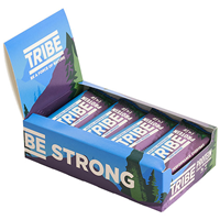 TRIBE Choc Brownie Protein Bars - 16 x 50g - Best before date is 31st January 2020